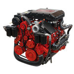Pleasure boat engine : in-board diesel engine 300 - 400 hp (common-rail, variable geometry turbocharger) VGT 350 BUKH