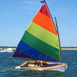 Sailing dinghy sail : mainsail BEETLE CAT  Doyle
