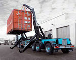 self-loading container trailer (side-lift) 160-SERIES Hammar Maskin AB