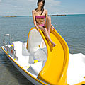4-place pedal boat - MARINER