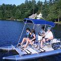aluminum pedal boat - AQUA CYCLE 4X4