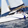 catamaran sailboat / cruising - Lady Hawke 33