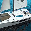 catamaran sailboat / cruising / carbon mast - 52S