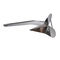 plough anchor / for boats / for yachts / stainless steel