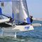 foiling trimaran / racing / carbon / carbon mast