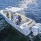 Center console monohull boat / twin-engine / sport-fishing / with T-top 334 CC Mako Marine