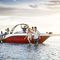 outboard runabout / bowrider / sport-fishing / 13-person max.