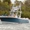 outboard express cruiser / triple-engine / open / center console
