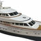 cruising motor yacht / raised pilothouse / displacement hull
