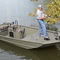 outboard jon boat / center console / sport-fishing / aluminum