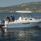 outboard walkaround / 8-person max. / with cabin / with T-top