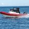 Outboard utility boat / inflatable boat / semi-rigid / with enclosed cockpit 6.5 CANOPY Red Bay