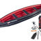 Multi-use canoe / inflatable / 3-seater / polyester ADVENTURE Grabner