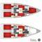 monohull / fast cruising / open transom / lifting keel