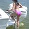 boat ladder / lifting / swim / manual