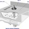 boat bearing / rudder / self-aligning