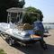 outboard inflatable boat / rigid / center console / hard-top
