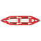 sit-on-top kayak / inflatable / whitewater / 2-person