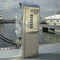 electrical distribution pedestal / with built-in light / for docks