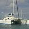 sailing catamaran / ocean cruising / open transom / 3-cabin