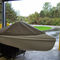 3-seater pedal boat ESCAPADE LOW WINDSHIELD Nauticraft Corporation