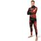 spearfishing wetsuit / long-sleeve / with hood / two-piece
