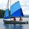 double-handed sailing dinghy / regatta / symmetric spinnaker / CL16