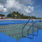 dock ladder / fixed / lateral / swim
