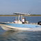 outboard center console boat / center console / open / sport-fishing