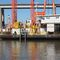 barge propulsion system / deck-mounted / hydraulic motor