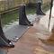 Swim platform fender / carbon/hypalon Magnifico Exit Carbon