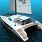 Sailing catamaran / cruising / open transom 52S Flash Catamarans