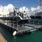 boat lift / floating / galvanized steel