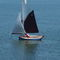 single-handed sailing dinghy / recreational