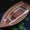 outboard small boat / recreational / fiberglass / classic