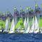 double-handed sailing dinghy / children's / regatta / recreational