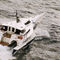 Power trimaran motor yacht / high-speed / wheelhouse / composite Patrol One LOMOcean Design