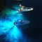 underwater yacht light / LED / surface-mount / multi-color