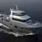 expedition motor yacht / flybridge / steel / displacement hull