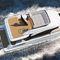 inboard express cruiser / displacement hull / flybridge / fast