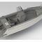 outboard center console boat / center console / open / aluminum