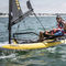 inflatable sailing dinghy / catboat