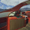 inboard express cruiser / open / dual-console / with cabin