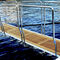 superyacht gangway / rotating / telescopic / retractable