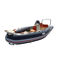 outboard inflatable boat / rigid / side console / sport