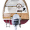 outboard small boat / open / side console / fishing