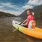 sit-on-top kayak / inflatable / recreational / two-seater