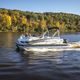 outboard pontoon boat / ski / 10-person max.