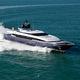 cruising super-yacht / raised pilothouse / aluminum