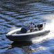 outboard inflatable boat / RIB / center console / 8-person max.